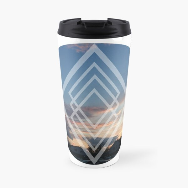 sunset edit  Travel Mug