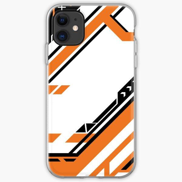 CSGO   Black & Orange iPhone Soft Case