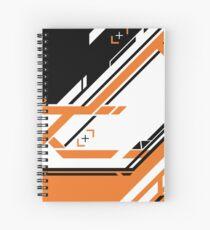 CSGO | Black & Orange Spiral Notebook