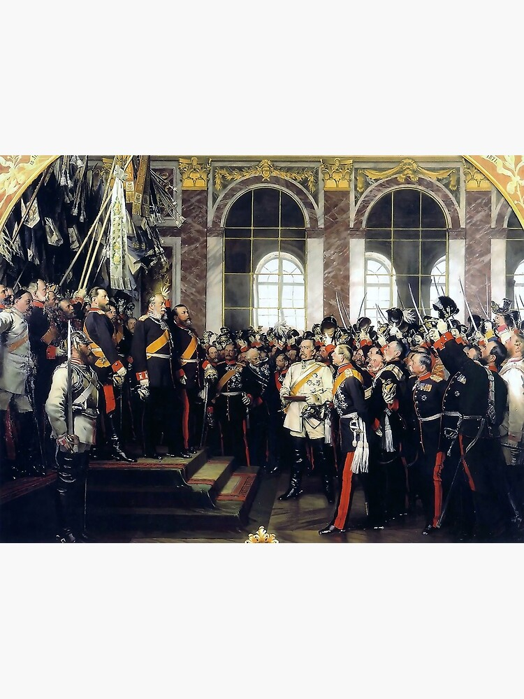 Proclamation of the German Empire, 1871 by edsimoneit