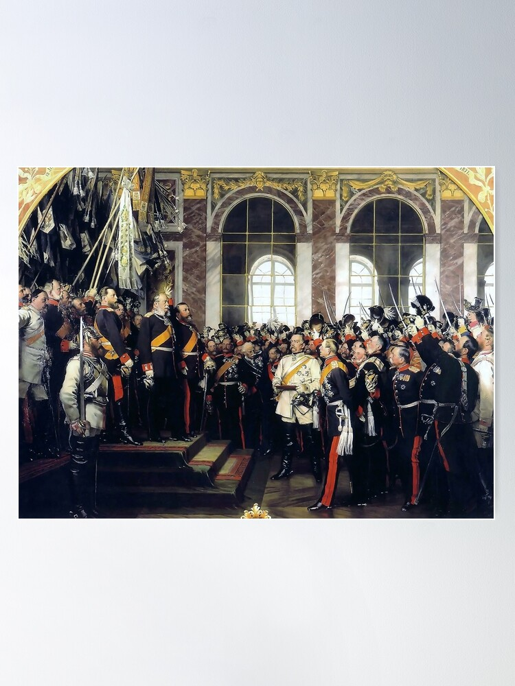 Alternate view of  Proclamation of the German Empire, 1871 Poster