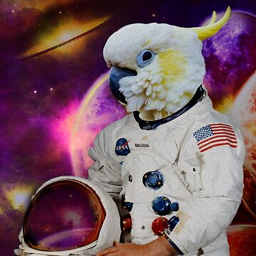 astronaut cockatoo by FandomizedRose