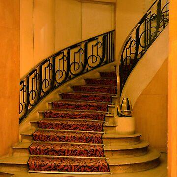 Hotel Paris Stairway by tomb42