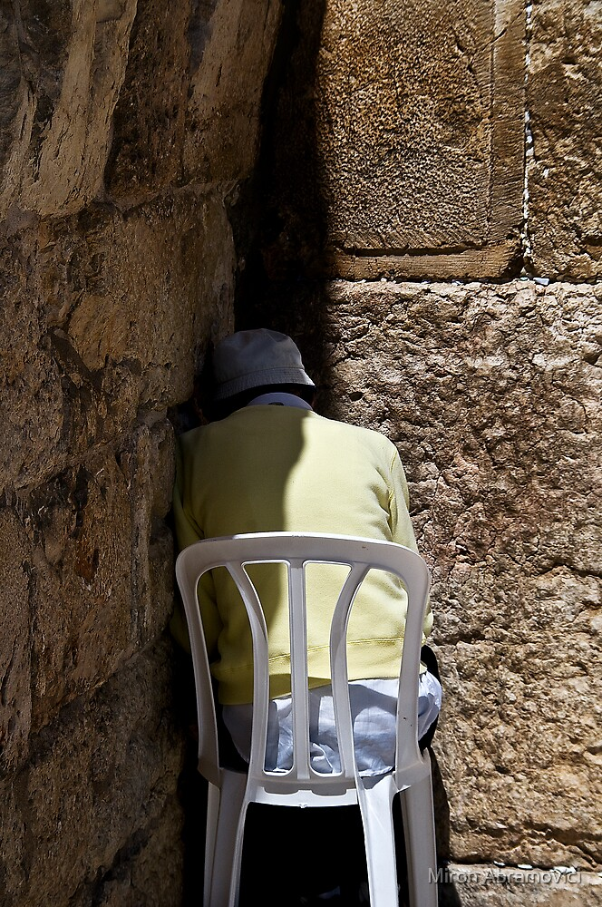 In the corner by Miron Abramovici