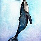 Whale at Night by Autumn Linde