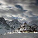 Männlichen at night, Switzerland by Mark Howells-Mead