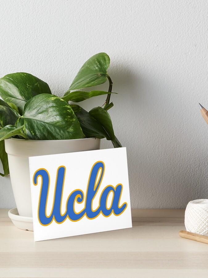 UCLA Script Logo | Art Board Print