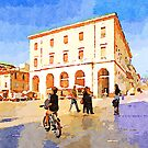 Teramo: child on a bicycle by Giuseppe Cocco