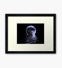 Moon.. Framed Print