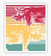Pig pet Sticker
