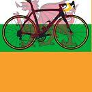 Bike Flag Wales (Big - Highlight) by sher00