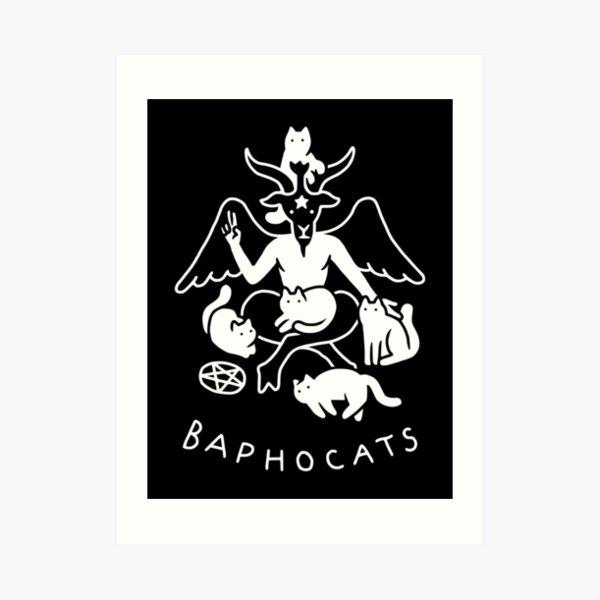Baphocats Art Print