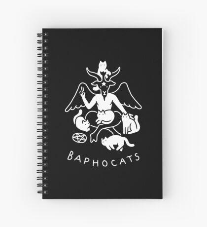 Baphocats Spiral Notebook