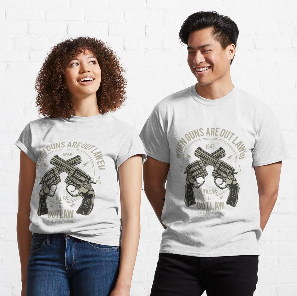 Outlaw Vintage Brutal T-shirt Classic T-Shirt