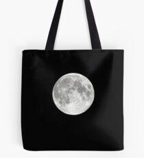 Full Moon over Santa Cruz Tote Bag