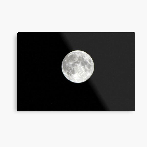 Full Moon over Santa Cruz Metal Print
