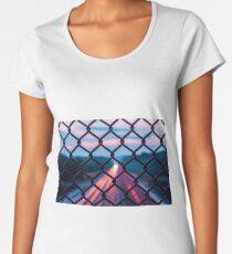 Long Exposure HIghway Women's Premium T-Shirt