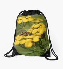 Pensylvania Leather-wings Drawstring Bag