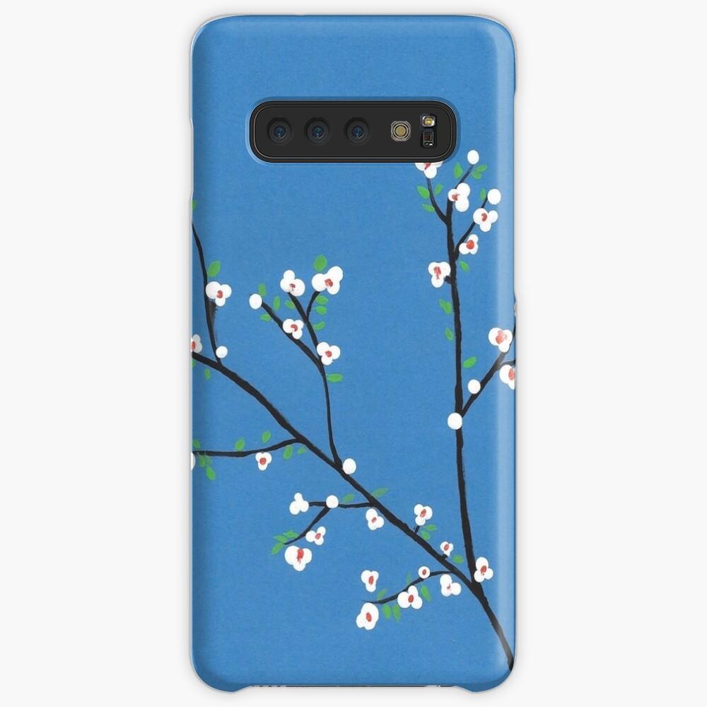 Blüten Hülle & Klebefolie für Samsung Galaxy