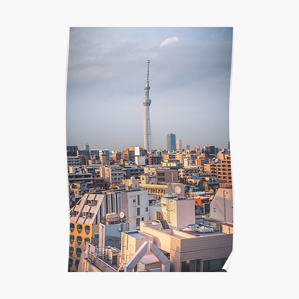A view of Tokyo Skytree Poster