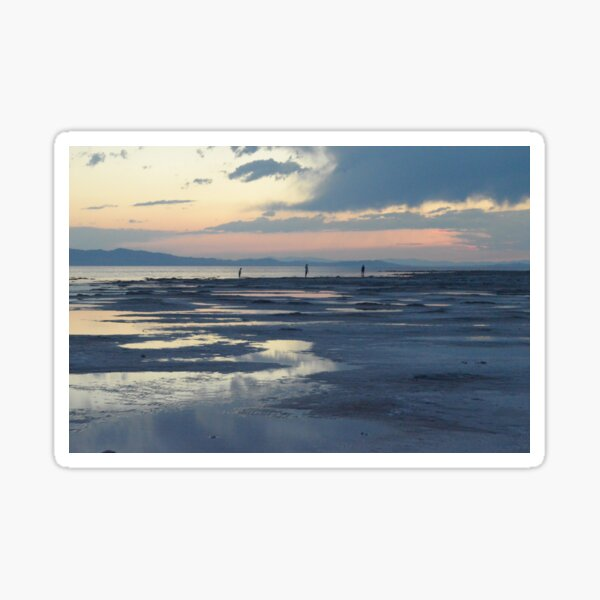 Sunset beach Sticker