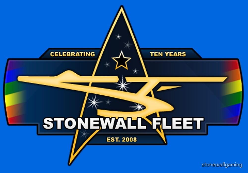 SWF 10th Anniversary Logo by stonewallgaming