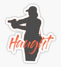 Nicole Haught Sticker