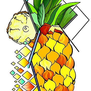 Pineapple and fruits by Domizzz