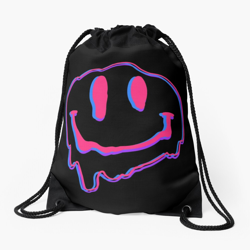 melting Drawstring Bag