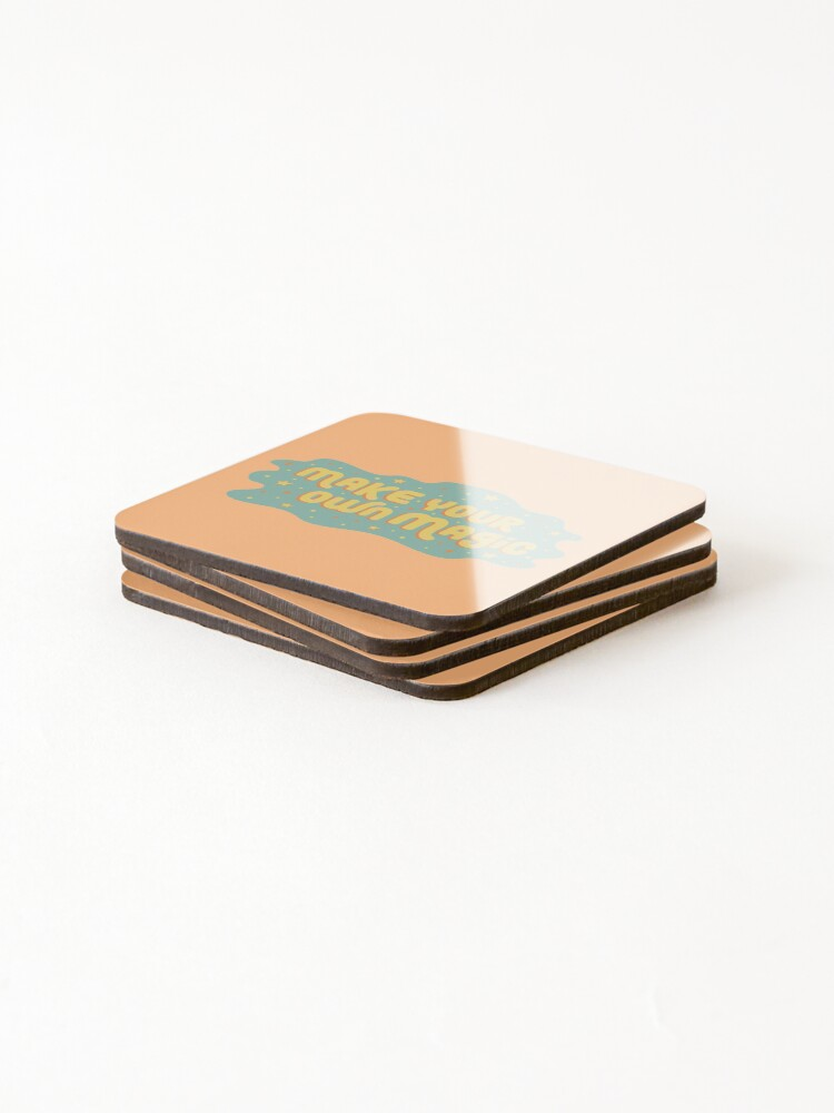 Alternate view of Make Your Own Magic Coasters (Set of 4)