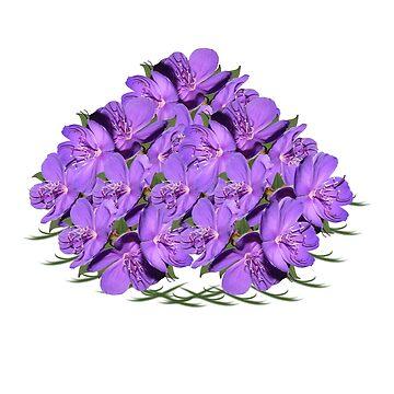 Lavendar Bouquet by Zmagine