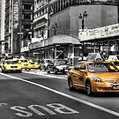 YELLOW CAB by MIGHTY TEMPLE IMAGES