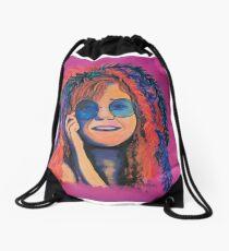 Janis Joplin Drawstring Bag