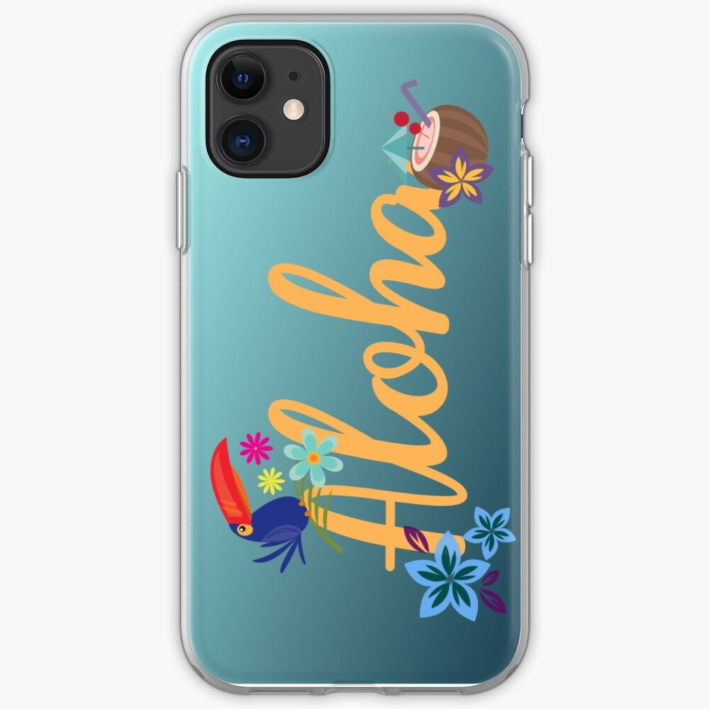 Aloha iPhone Soft Case