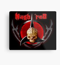 house of Nagh rEd Metal Print