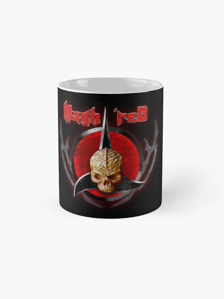 Alternate view of house of Nagh rEd Mug