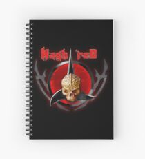 house of Nagh rEd Spiral Notebook