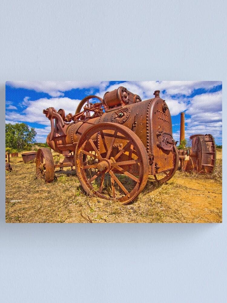 Alternate view of Rusty Steam Canvas Print