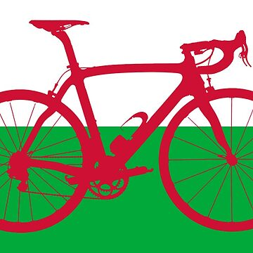 Bike Flag Wales (Big) by sher00