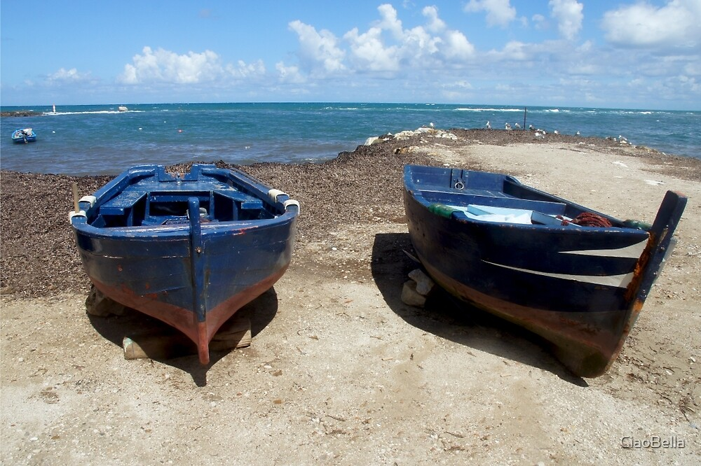 Blue Boats by CiaoBella