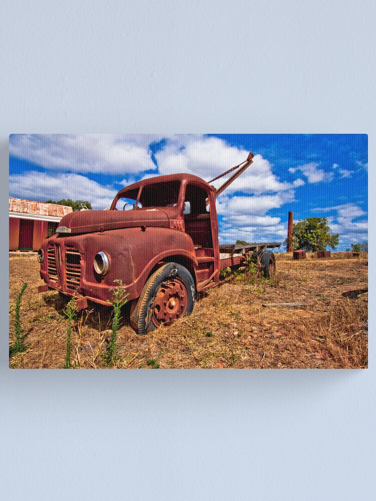 Alternate view of Rusty Austin Canvas Print