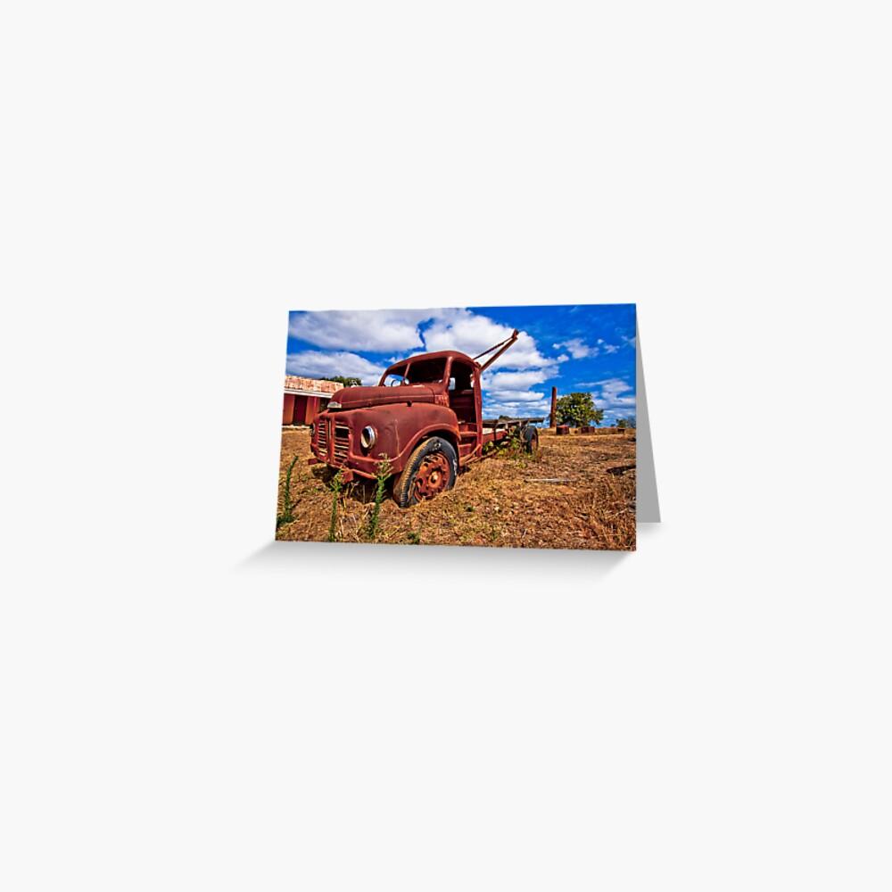 Rusty Austin Greeting Card