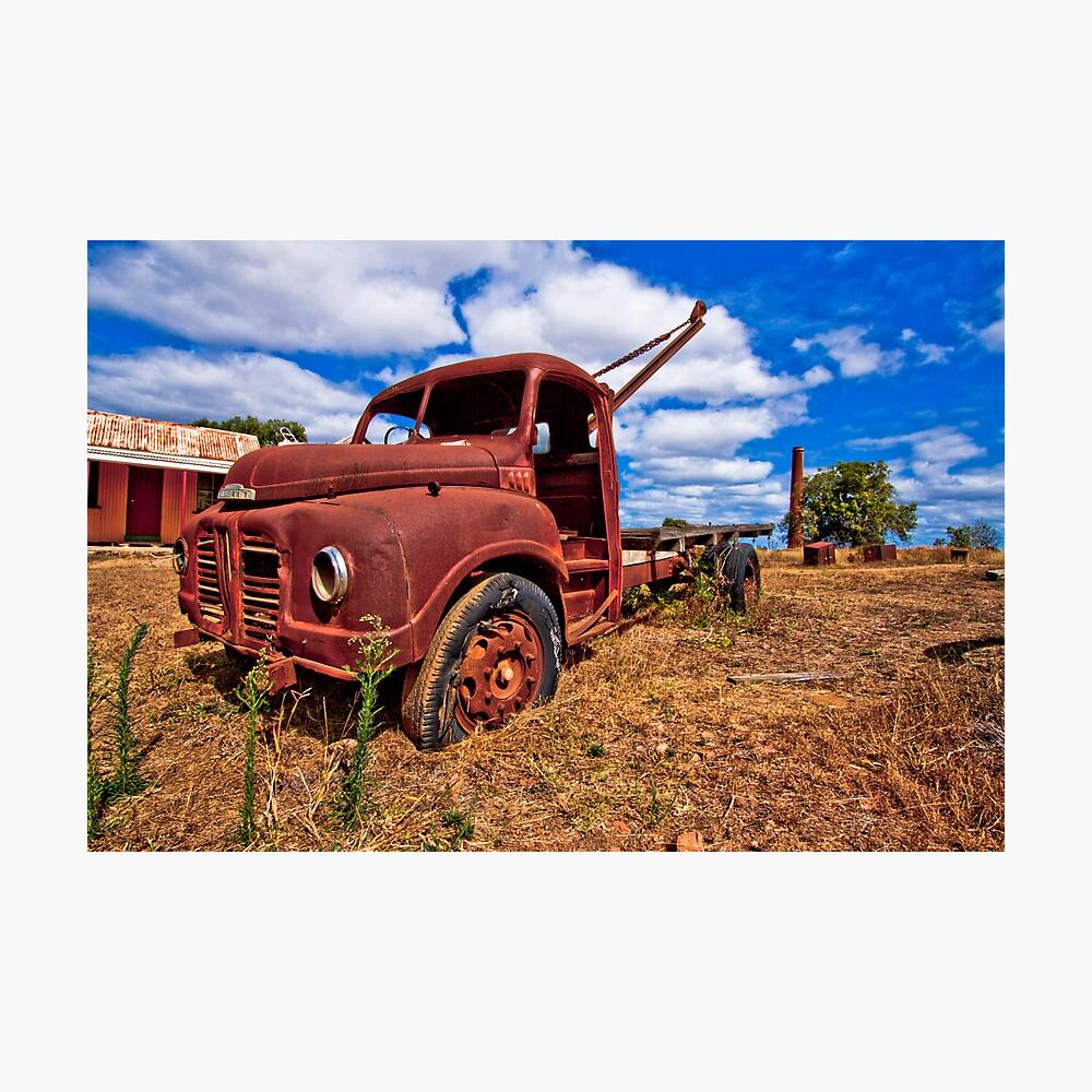 Rusty Austin Photographic Print