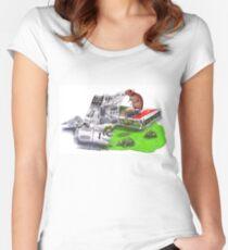 Beginnings - Teenage Mutant Ninja Turtles Women's Fitted Scoop T-Shirt