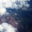 Above The Pyrenees by pat oubridge