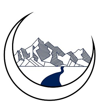 Geometric Mountain by Moiza