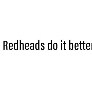 Redheads do it better - Nicole Haught - Wynonna Earp by tziggles