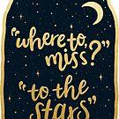 «a las estrellas» de katielavigna