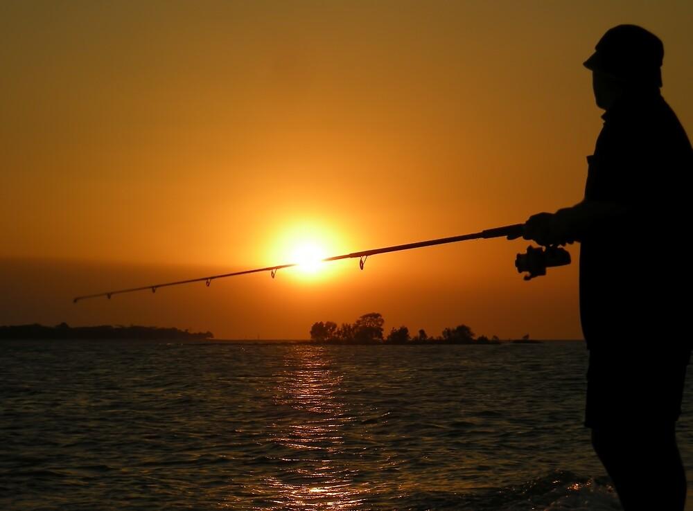 Spit Fisherman by V1mage