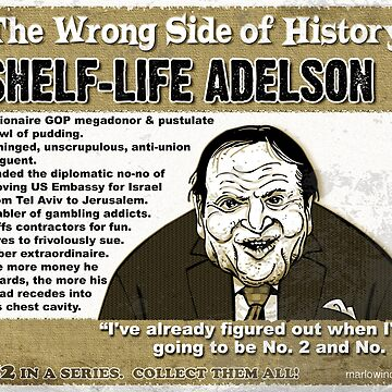 Shelf-life Adelson by marlowinc